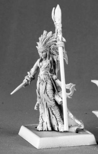 Liela Mordollwen, Dark Elf Sorceress