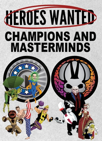 Heroes Wanted - Champions & Masterminds