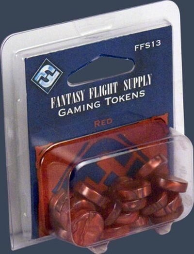 Rote FFG-Spielsteine Set (20)