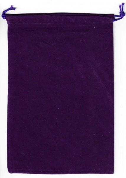 Dice Bag Chessex: flach - Purple (groß)