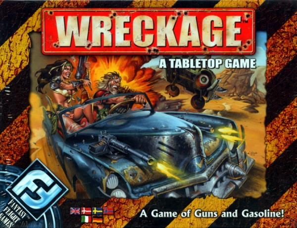 Wreckage - A Tabletop Game
