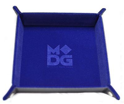 Blue Folding Dice Tray