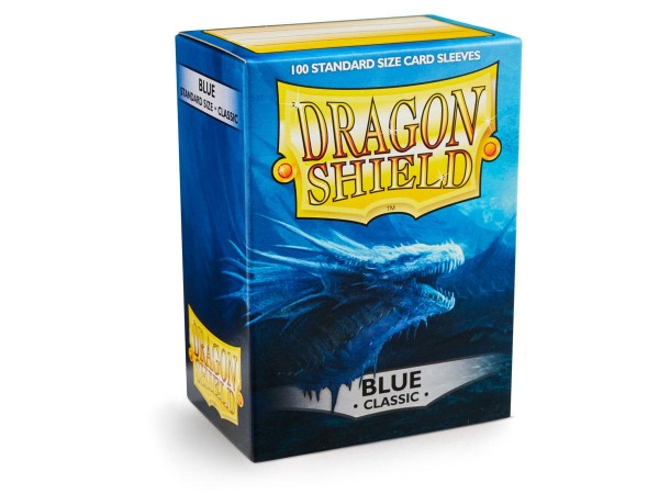 Dragon Shield: Blau (100) Sleeves