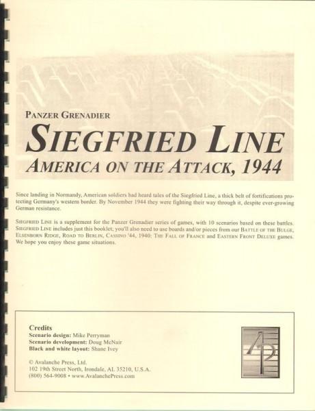 AP: Panzer Grenadier: Siegfried Line