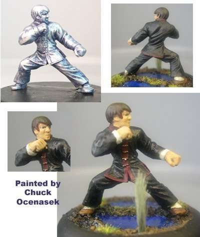 Tanshiro, male Kung Fu practioner
