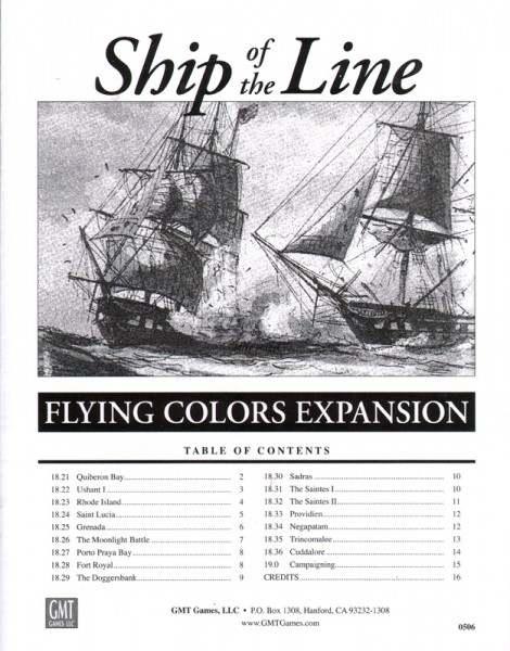 Flying Colors - Ship of the Line Expansion