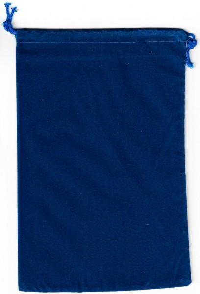 Dice Bag Chessex: flach - Royal Blau (groß)
