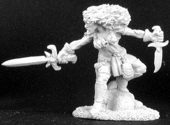 Serris, female Fighter/Thief