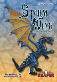 Stormwing the Blue Dragon