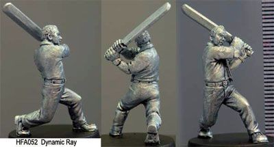 Ray dynamic, Male swinging Cricketbat