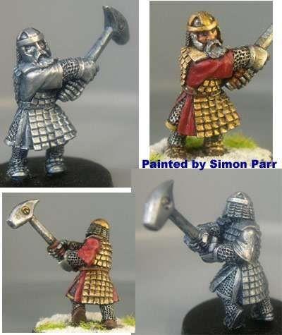 Benn, male dwarf with greathammer