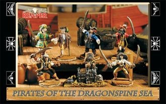 Pirates of the Dragonspine Sea I (Box)