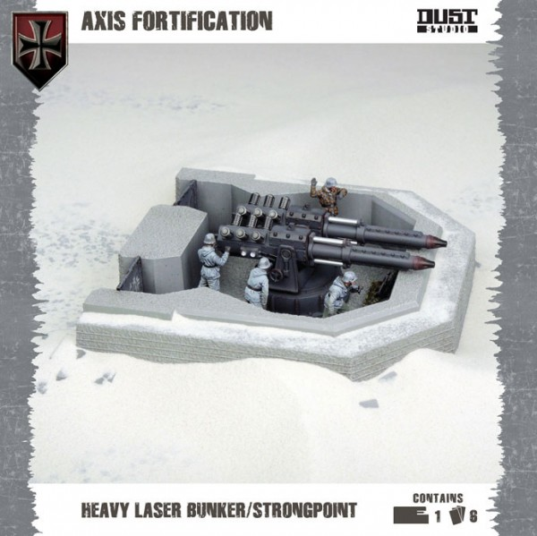 Axis: Fortification - Heavy Laser Bunker / Strongpoint