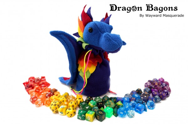 Dragon Bagons plush-bag (rainbow)