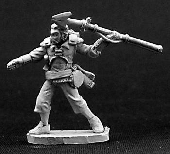 Anatole, Male Pirate Harpooner
