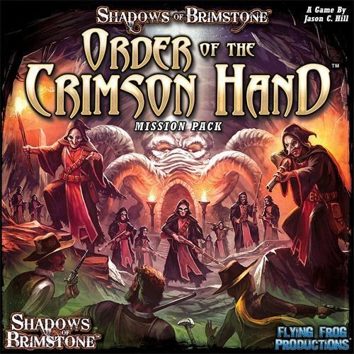 Shadows of Brimstone - Order of the Crimson Hand Mission Pack