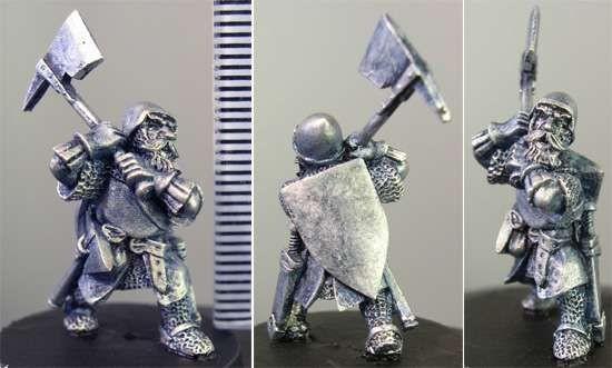 Male Dwarf w/Axe