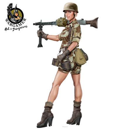 Axis: Lieutenant Johanna Steiner