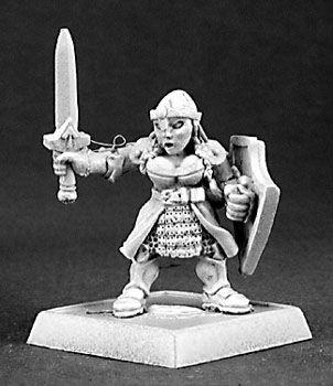 Brea Goldzopf, Dwarfen Shieldmaiden