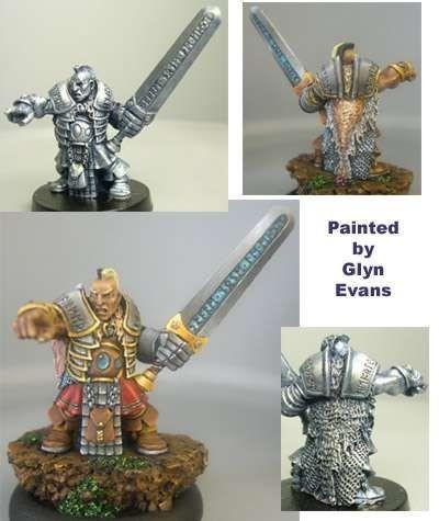 Kristian, male dwarf with greatsword