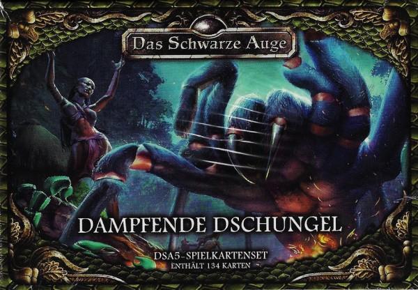 DSA5: Dampfende Dschungel Spielkartenset