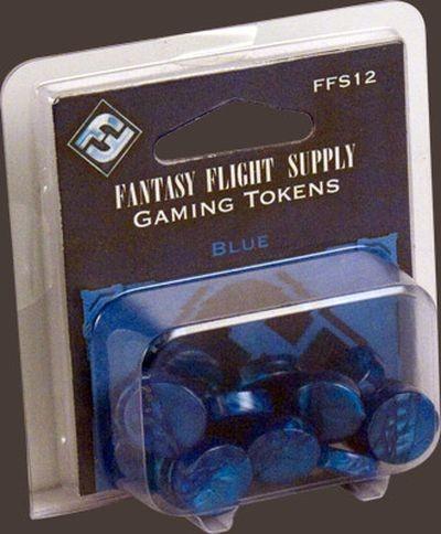 Blaue FFG-Spielsteine Set (20)