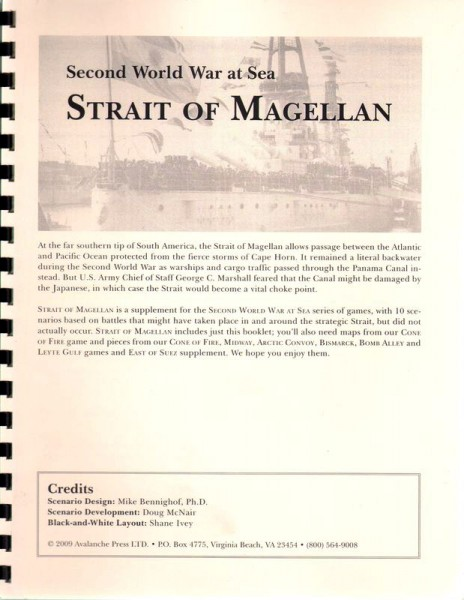 AP: WWII at Sea: Strait of Magellan