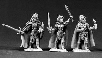 Classic Female Elves (3)
