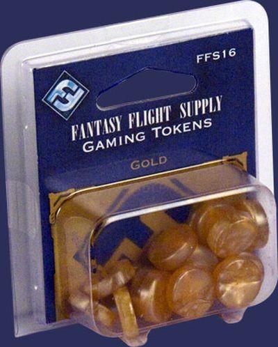 Goldene FFG-Spielsteine Set (20)