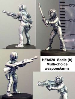 Sadie (mixed weapons)