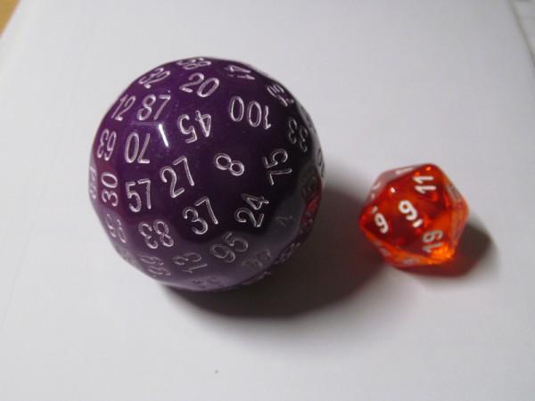 Bescon d100: Opaque Purple