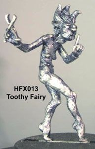 Scary Tooth Fairy with pliers