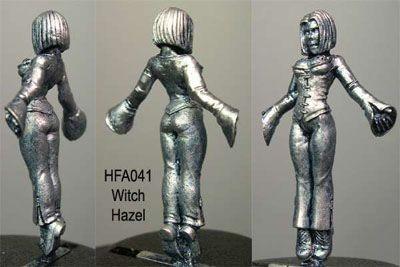 Witch Hazel, levitating female Witch