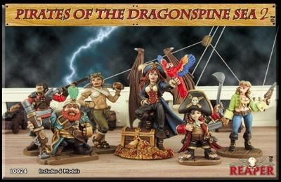 Pirate of the Dragonspine Sea II (Box)