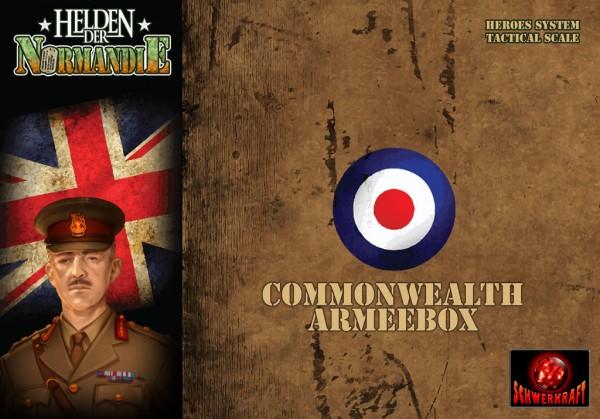 Helden der Normandie - Commonwealth Armeebox