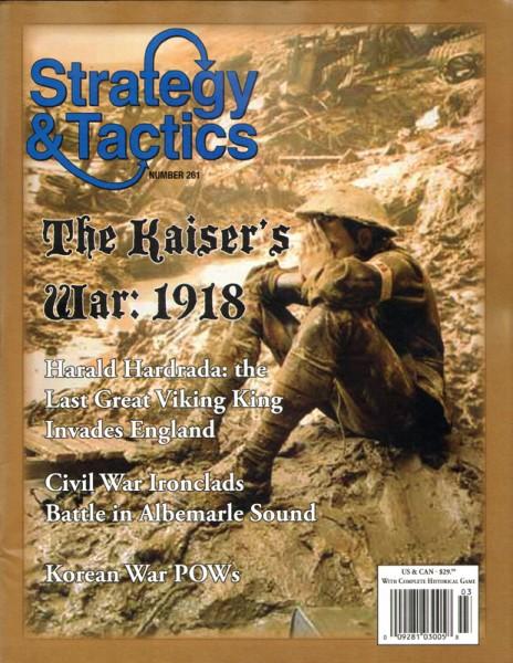 Strategy & Tactics# 261 - The Kaiser's War 1914-18
