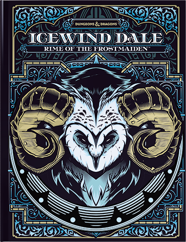 D&D Icewind Dale: Rime of the Frostmaiden (Limited Edition Cover)