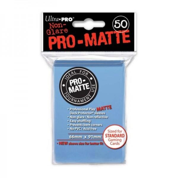 Ultra Pro: Matte Light Blue Protector (50)