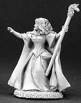 Aeslin Moonflower, Half Elf Sorceress