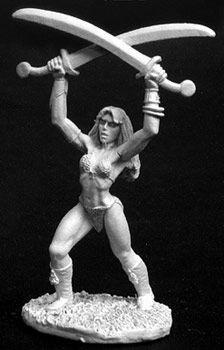 Korin, Female Barbarian