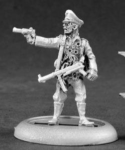Zombie, German Officer