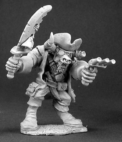 Turuk Stronhall, Minotaur Pirate
