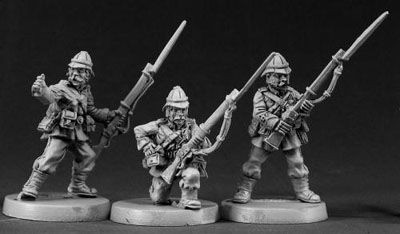 British Colonial Riflemen