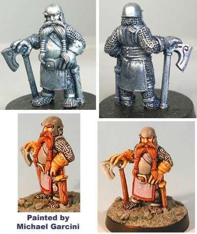 Russ, male dwarf warrior