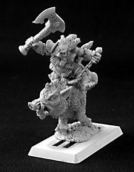 Durthen, Dwarven Berserker on Boar