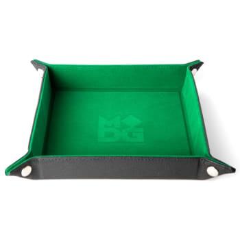 Green Folding Dice Tray