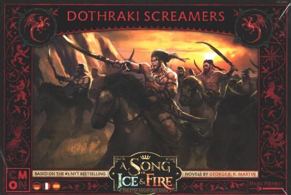 A Song of Ice & Fire: Dothraki Screamers / Schreier der Dothraki