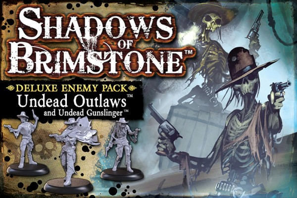 Shadows of Brimstone - Undead Outlaws Deluxe Enemy Pack