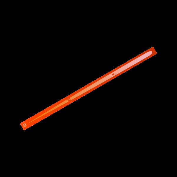 Space Fighter Range Ruler (Orange)
