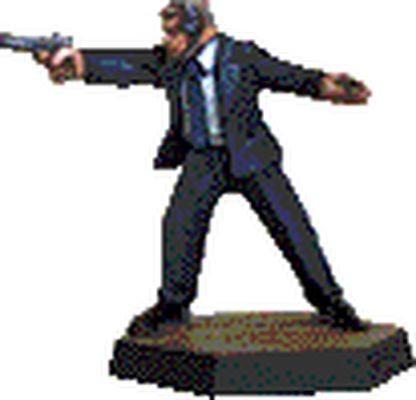 Suits: Handgun, firing